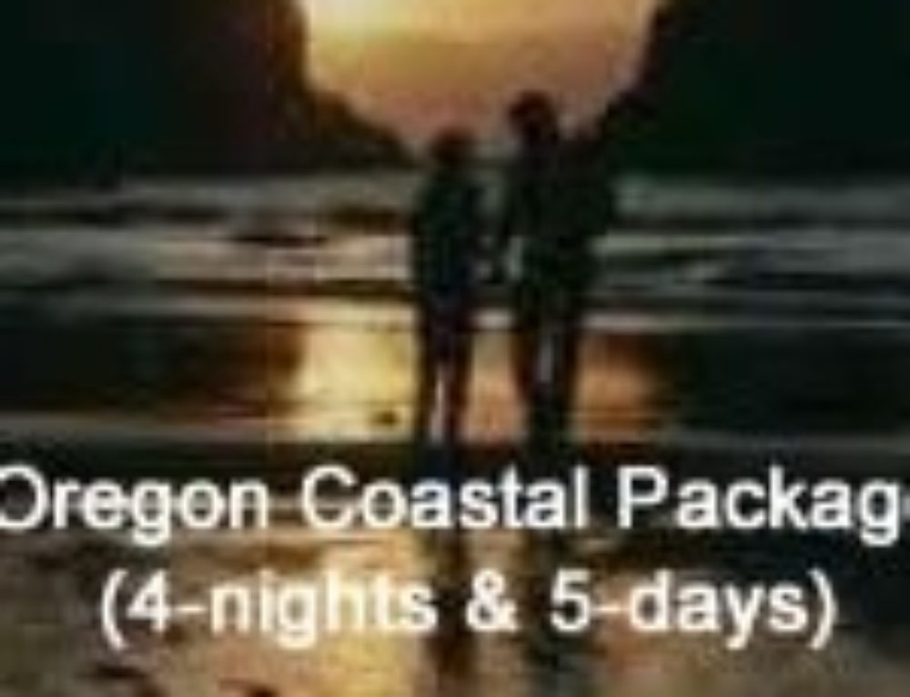 Oregon Coastal Package (4-nights & 5-day)